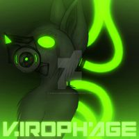 Album Cover - Virophage by TheGoldenCrowbar