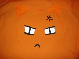 angry kitty by scullylam