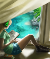Summer Reading Time by J-AxT13