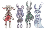 Bloody Bunbuns Adopts #2 by hanecco