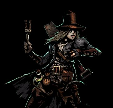 Grave robber Darkest Dungeon (Copy) by Skarabei2211
