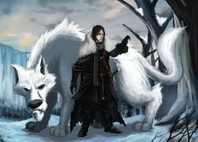 Jon Snow by Hidd3nNiN