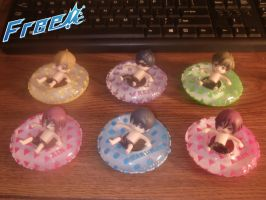 Free! Iwatobi Swim Club Cute Figures by Levi-Ackerman-Heicho