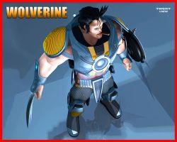 Armored Wolverine by TargetView