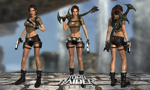 Lara Croft TRL Jungle Outfit by Lerova by Lerova