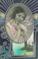 Vintage beauty with cool frame by SolStock