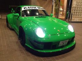 RWB 993 Night Driving by Porsches