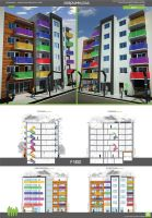 color building 2 by markozeka