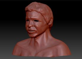 Harrison Ford 3 Courters View Untextured by Natefurry