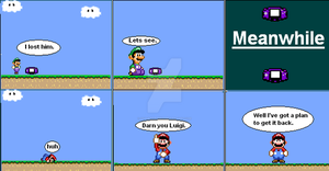 Super Mario World Comic 5 by GoldenfrankO