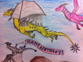 Birthday Gift for NobilisKrypton by queenfirelily17