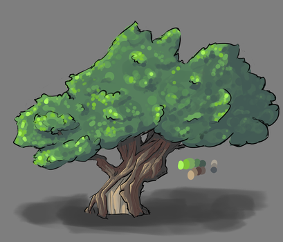 Elm Tree Concept by Beast7Gamer