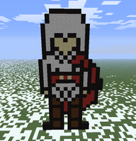 Minecraft- Assassin by aprilgoddess