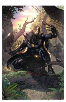 Black Panther :D by ashkel
