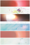 6 textures by heartbeatL by HeartbeatL