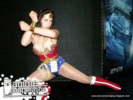 Wonder Woman clasic pose by DarkTifaStrife