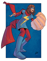 Ms Marvel by J-Skipper
