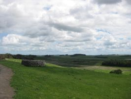 Hadrian's Wall Stock 14 by CoolCurry-Stock
