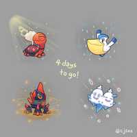 4 days to go!!! by CJsux