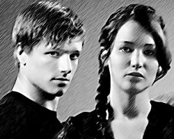 The Hunger Games. Katniss and Peeta 5 by StalkerAE