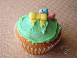 Easter Cupcakes 1 by xcalixax