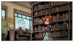 Inside the Dead Hand Used Bookstore COLOR! by AmeliaDDraws