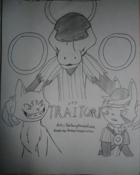 Comic Cover: Traitor! by TheFurryNamedConie