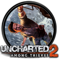 Uncharted 2: Among Thieves - Icon by Blagoicons