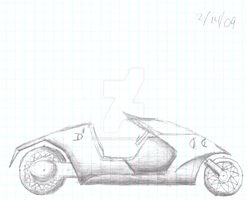 Recumbent Mortorcycle Concept Number 2 by Immortal-Lynx