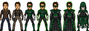 Hal Jordan Metropolis by BAILEY2088