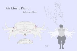 Re:Alter Air Piano Reference Sheet by Oseike
