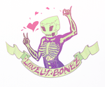 LOVELYBONEZ Commission COLORS by 13th-Letter