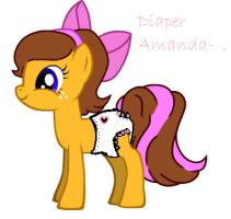 Diaper Amanda by diaperlisa
