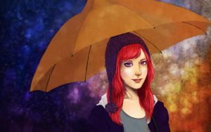 Umbrella by cheungygirl