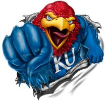 Jayhawk Shirt Design by RodgerPister