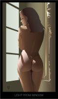 Light from window by GraphicDream
