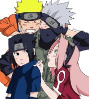 We Love You Kakashi-Sensei! Lineart Colored! by Ikuzram021