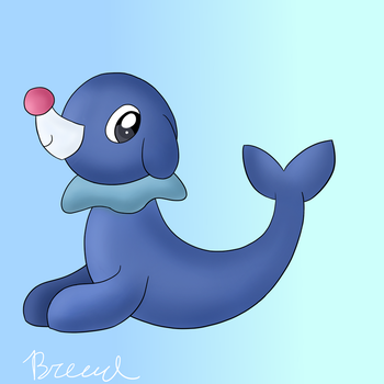 Popplio by breadcheese444