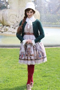 Classic Lolita Animaga Coord by sparklemiss