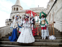Trinity Blood Team by kanamecosplay