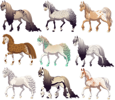 Horse Design Auctions by Raye-Adopts