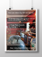 Dog-with-two-tails-Poster by Fenitel