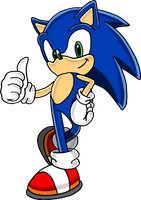 Sonic - Full Icon Art by Tails19950