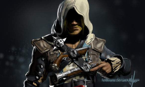 Edward Kenway (Assassin's Creed 4: Black Flag) by VizualWizard