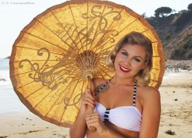 Beach Pin Up 4 by Cesar237