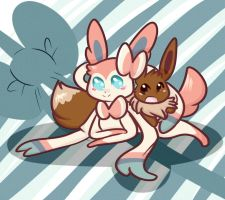 With Eevee by Eversparks