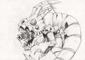 zombified Kog'Maw by paskiman