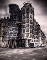 The Dancing House by Beezqp
