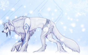 Commission: Snowfall by Wings-Of-Chaos