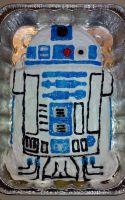 R2D2 Cake (by Kati Mullen) by JayFordGraphics